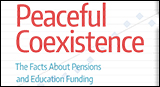 Peaceful Coexistence: The Facts about Pensions and Education Funding